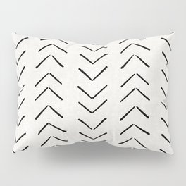 Mud Cloth Big Arrows in Cream Pillow Sham