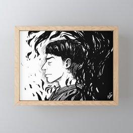 Dissolving Framed Mini Art Print