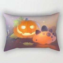 Pumpkin Dino Rectangular Pillow