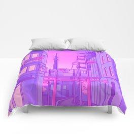 Asakusa Lights Comforters