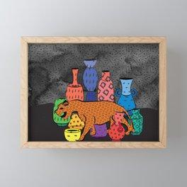Thrift Store Finds Framed Mini Art Print