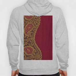 Arabian Nights in Red and Gold Hoody
