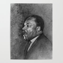 "Dr. King ""I've Been to the Mountaintop"" (April 3 1968) Poster"