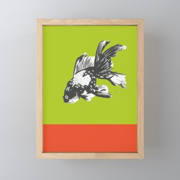 Fish-y Framed Mini Art Print