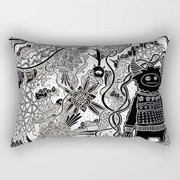 Norwood (Night Version) Rectangular Pillow