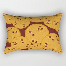 Chocolate chip cookie Rectangular Pillow