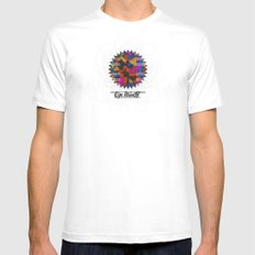 Op Ning A Supermodel From Addiscombe Mens Fitted Tee MEDIUM White