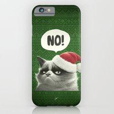 Grumpy Xmas iPhone 6s Slim Case
