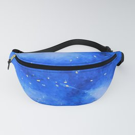 Orion Night Watercolor Fanny Pack