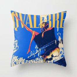 QVLIBRE kim Throw Pillow