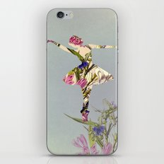 Flower Ballerina II iPhone & iPod Skin