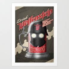 Drink Wolfenstein Art Print