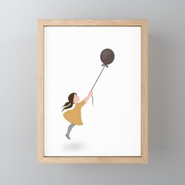 Float Away Framed Mini Art Print