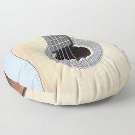 Classical Guitar Floor Pillow