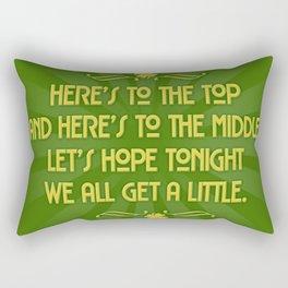 An old Irish sayin Rectangular Pillow