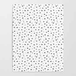 Abstract pattern: dots Poster