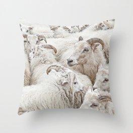Stick Together Throw Pillow