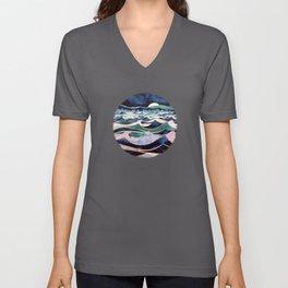 Moonlit Ocean Unisex V-Ausschnitt