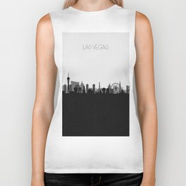 City Skylines: Las Vegas (Alternative) Biker Tank