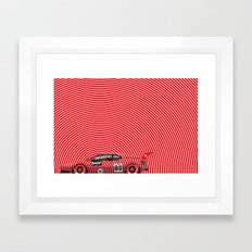 H.J. Stuck, BMW M1, 1980 Framed Art Print