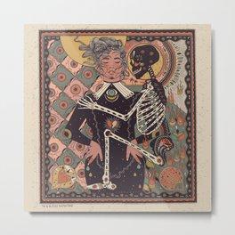 Santa Muerte-Inspired by Penny Dreadful: City of Angels Metal Print