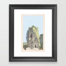 The Donnybrook Ruin Framed Art Print