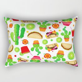 Fiesta Tacos Rectangular Pillow