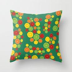 BP 21 Fruit Throw Pillow