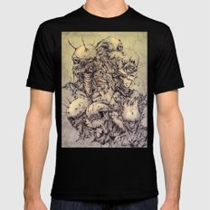 Creation Mens Fitted Tee LARGE Black