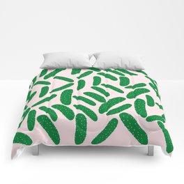 Cute Pickles Comforters