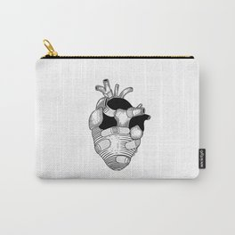 The strongest hearts have the most scars Carry-All Pouch