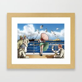 Penny Rogers - Hot wind Framed Art Print