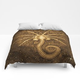 Facehugger (Sepia) Comforters