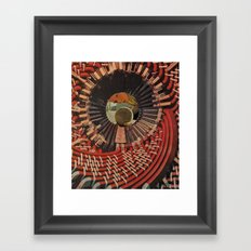 Rabbit Hole Roulette Framed Art Print