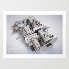 Imagine & Create Art Print