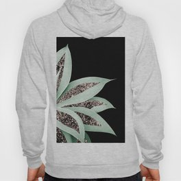 Agave Finesse Glitter Glam #2 #tropical #decor #art #society6 Hoody