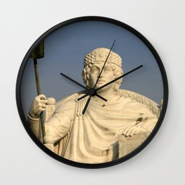 Skopje V Wall Clock