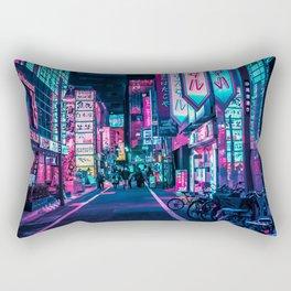 A Neon Wonderland called Tokyo Rectangular Pillow
