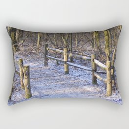 Chilly Trail Rectangular Pillow