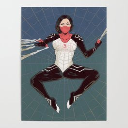 A cindy on a web Poster