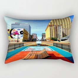 Memphis: Madison Ave Rectangular Pillow