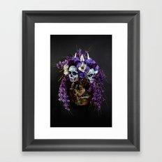 Willow Blossom Muertita Framed Art Print