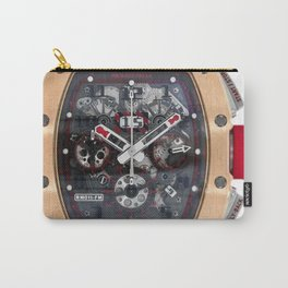 Richard Mille RM011 Red Demon Titanium & 18K Rose Gold 50MM Carry-All Pouch