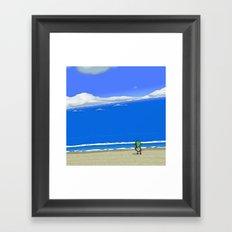 Wake the Sea Framed Art Print