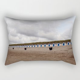 on the beach (Texel) Rectangular Pillow
