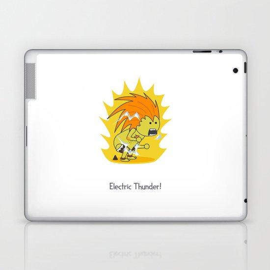 Electric Thunder! Laptop & iPad Skin