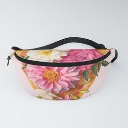 FLORAL PIZZA Fanny Pack