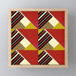 WORK 37 Framed Mini Art Print