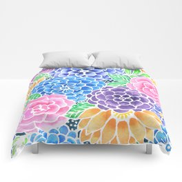 Masked Flora Collection Bloom Comforters