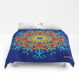 Gracias a la Vida (Azul) Comforters